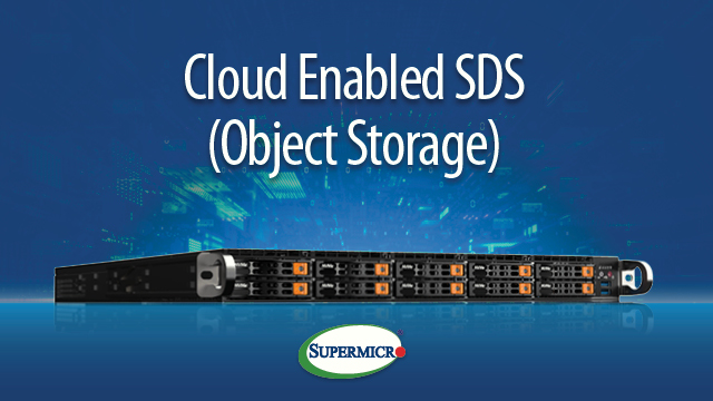 Panel Discussion: Cloud Enabled SDS (Object Storage)