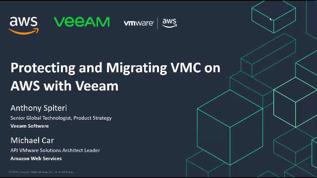 Maximize VMware and AWS with Veeam