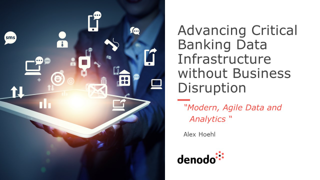 Advancing Critical Banking Data Infrastructure without Business Disruption