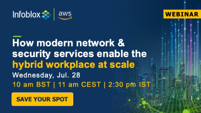 How Modern Network & Security Services Enable the Hybrid Workplace at Scale