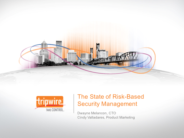 2012 Ponemon Report on Risk-based Security Management: Are Organizations...