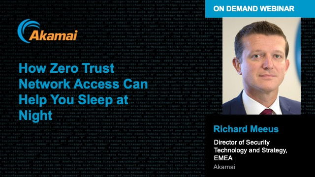 How Zero Trust Network Access Can Help You Sleep at Night
