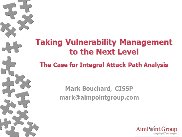 The Case for Integral Attack Path Analysis