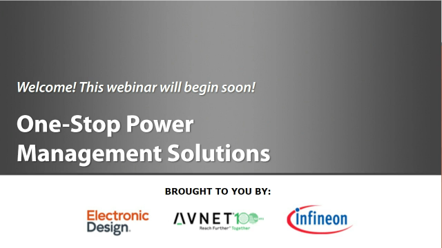 Infineon: One-Stop Power Management Solutions