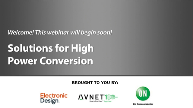 Discover Solutions for High Power Conversion
