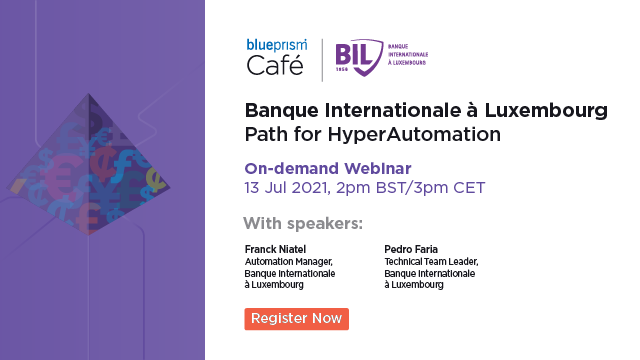 Banque Internationale à Luxembourg – Path for Hyper Automation