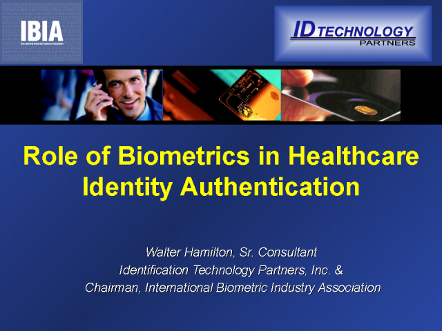 Does biometric identification have a role in population health?