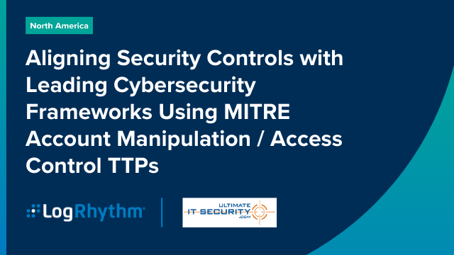 Aligning Security Controls with Leading Cybersecurity Frameworks