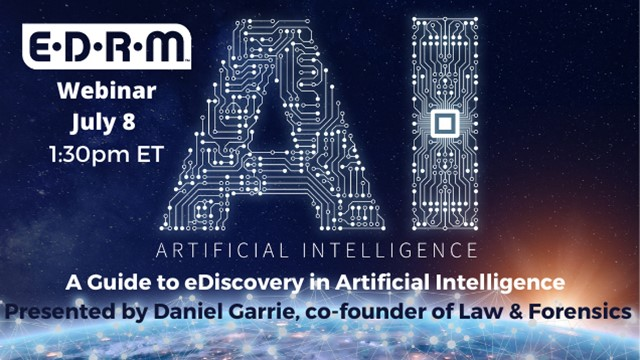 A Guide to eDiscovery in Artificial Intelligence