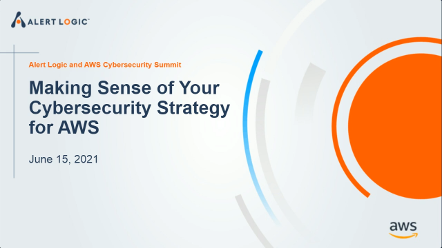 Making Sense of Your Cybersecurity Strategy for AWS