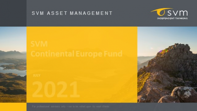 SVM Continental Europe Fund: July 2021