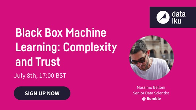 Black Box Machine Learning: Complexity and Trust