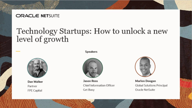Technology Startups: How to unlock a new level of growth