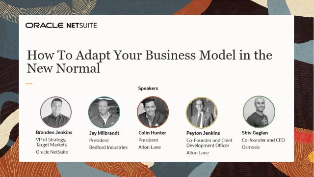 How to Adapt Your Business Model in the New Normal