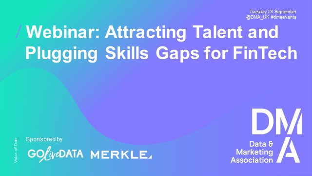 Webinar: Attracting Talent and Plugging Skills Gaps for FinTech