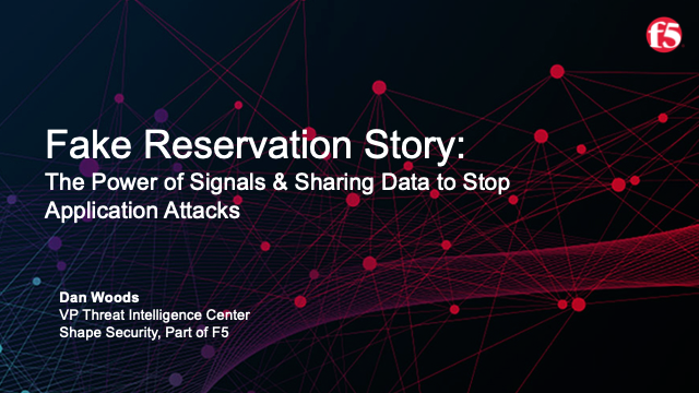 The Power of Signals & Sharing Data to Stop Application Attacks