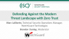 Defending Against the Modern Threat Landscape with Zero Trust