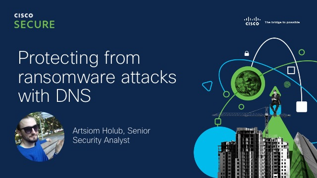 Protecting from ransomware attacks with DNS