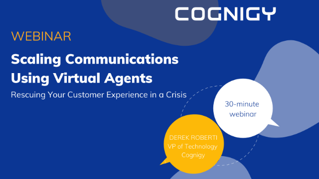 Scaling Communications in a Crisis Using Virtual Agents