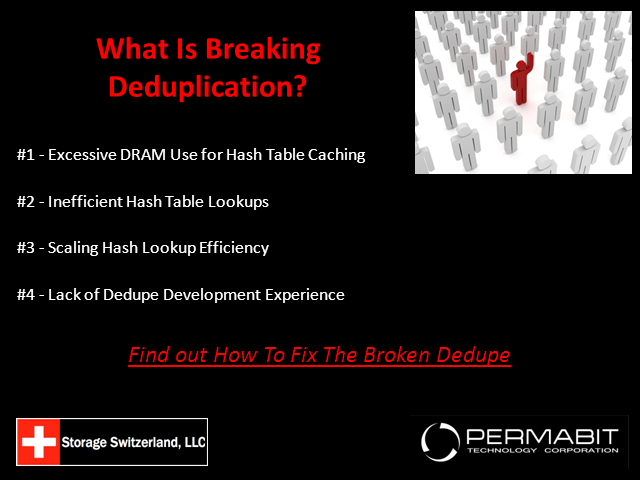What is Breaking Deduplication?