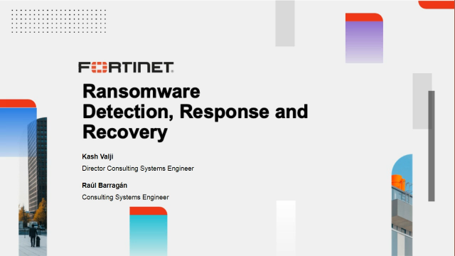 Ransomware – Detection, Response and Recovery