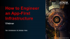 Engineering an App First Infrastructure