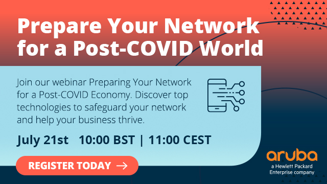 Preparing Your Network for a Post-COVID Economy