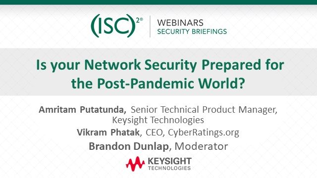 Is your Network Security Prepared for the Post-Pandemic World?
