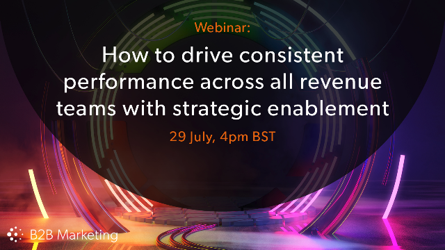 How to drive performance across all revenue teams with strategic enablement