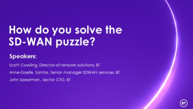How do you solve the SD-WAN puzzle?