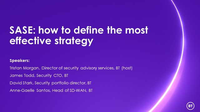 SASE: how to define the most effective strategy