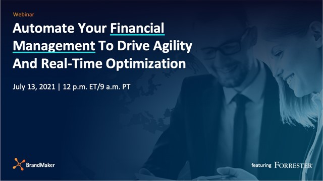 Automate Your Financial Management To Drive Agility And Real-Time Optimization