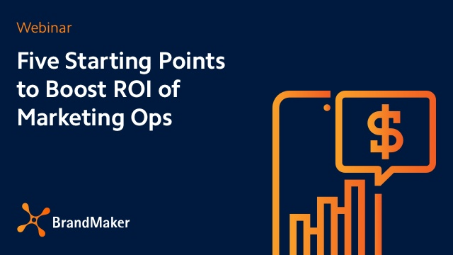 Five Starting Points to Boost the ROI of Marketing