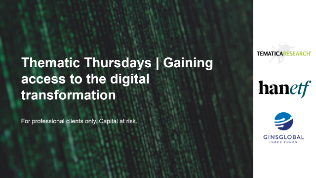 Thematic Thursdays: Gaining access to the digital transformation
