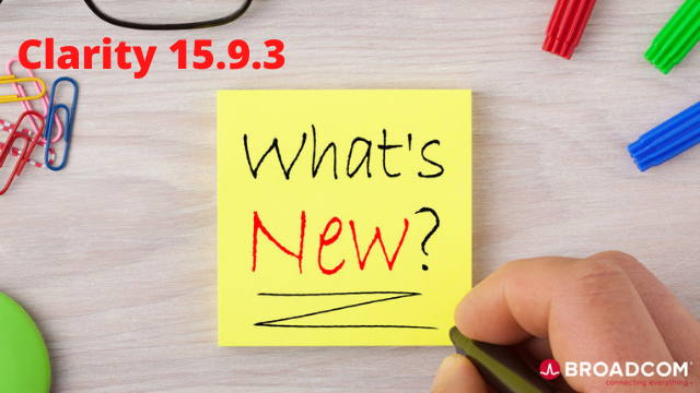 What's New in Clarity 15.9.3?