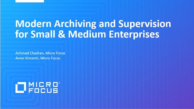 Modern Archiving and Supervision for Small & Medium Enterprises