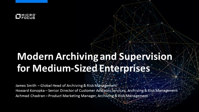 Modern Archiving and Supervision for Medium Enterprises
