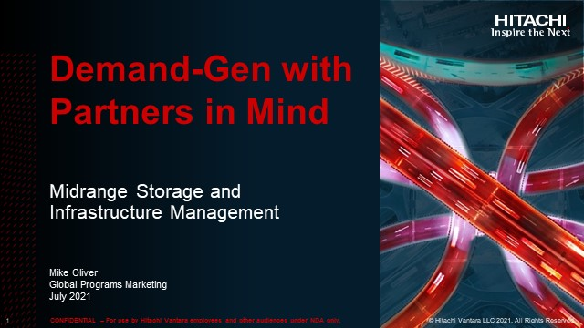 Demand Gen with Partners in Mind