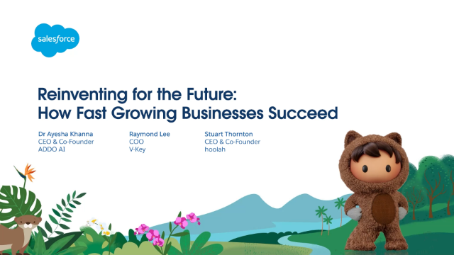 Reinventing for the Future: How Fast Growing Businesses Succeed