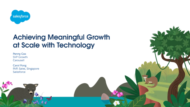 Achieving Meaningful Growth at Scale with Technology