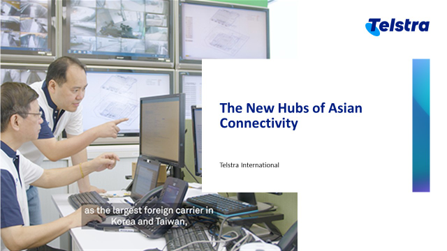 The New Hubs of Asian Connectivity