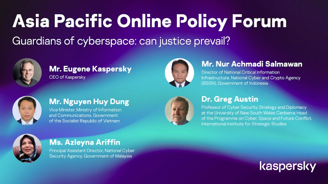 Asia Pacific Online Policy Forum 2 - Part 1