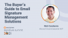 The Buyer's Guide to Email Signature Management Solutions