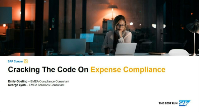 Cracking the Code on Expense Compliance