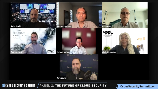 Cyber Security Summit (Silicon Valley) – Cloud Security Panel