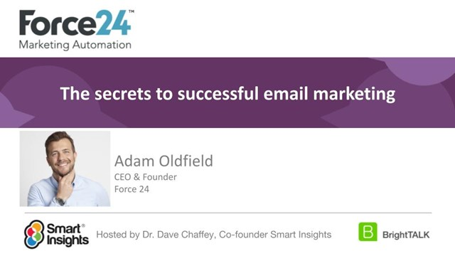 The secrets to successful email marketing