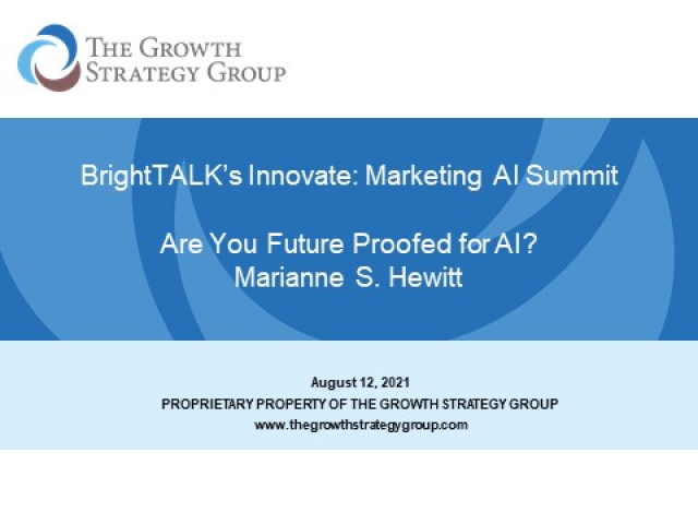 Are You Future Proofed for Marketing and AI?