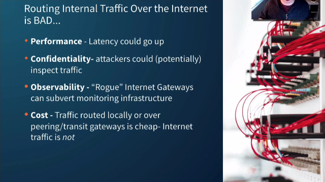 Finding AWS Internal Traffic Misrouted Over the Internet