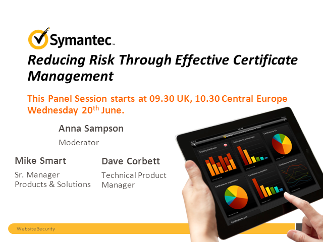 Reducing Risks Through Effective Certificate Management