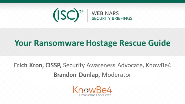 Your Ransomware Hostage Rescue Guide